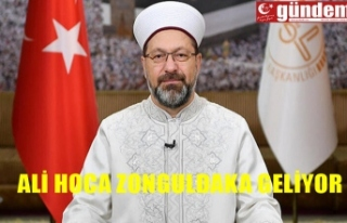 Diyanet İşleri Başkanı Prof. Dr. Ali Erbaş Namaz...