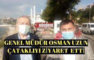 Et ve Süt Kurumu Genel Müdürü Osman Uzun, Zonguldak'taydı