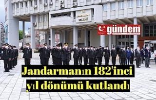 Jandarma teşkilatının kuruluşu 182. yıl dönümü...
