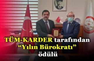 """""""Yılın Bürokratı"""" Ödülü"""