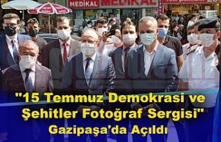 """""""15 Temmuz Demokrasi ve Şehitler Fotoğraf Sergisi""""..."""