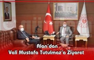 Alan'dan Vali Mustafa Tutulmaz'a Ziyaret