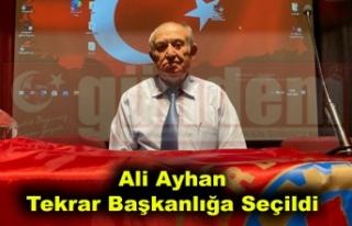 Ali Ayhan Tekrar Başkanlığa Seçildi