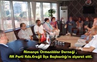 Almanya Ormanlılılar Derneği , AK Parti Kdz.Ereğli...