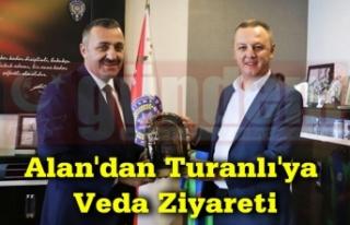 Başkanı Selim Alan, Zonguldak İl Emniyet Müdürü...