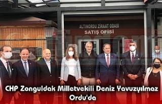 CHP Zonguldak Milletvekili Deniz Yavuzyılmaz Ordu'da
