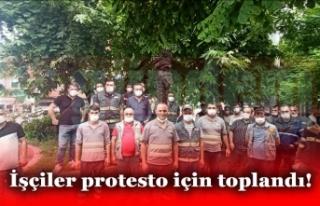 Çıkan Zam Kararını Protesto Ettiler