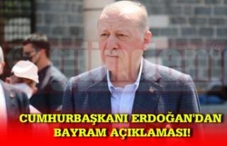 Cumhurbaşkanı Erdoğan, Kurşunlu Camii'nde...