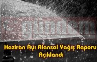 En Fazla Yağış 114 mm İle Zonguldak'ta Oldu