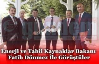 Enerji ve Tabii Kaynaklar Bakanı Fatih Dönmez İle...
