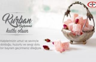 ERDEMİR; KURBAN BAYRAMINI KUTLADI