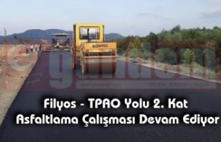 Filyos - TPAO Yolu 2. Kat Asfaltlama Çalışması...