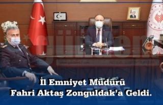 İl Emniyet Müdürü ilk Olarak Zonguldak Valisi...
