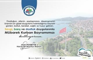Karadeniz Ereğli Belediye Başkanı Halil Posbıyık...