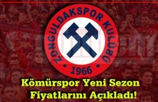Kömürspor Yeni Sezon Fiyatlarını Açıkladı!