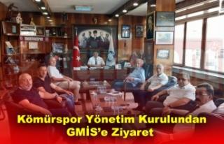 Kömürspor Yönetim Kurulu Tanışma ve Destek Ziyaretlerine...