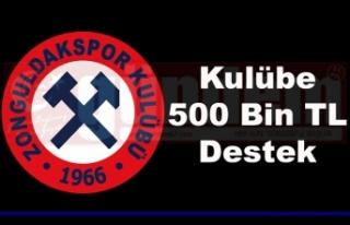 Kömürspor'un Yeni Yönetimi Kulübe 500 Bin TL...