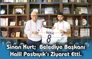 Sinan Kurt; Belediye Başkanı Halil Posbıyık'ı...