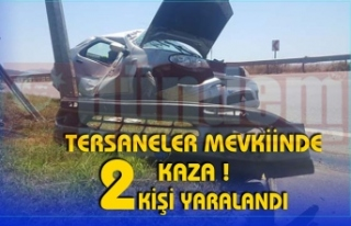 TERSANELER MEVKİİNDE KAZA !
