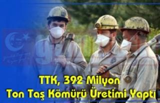 TTK, 392 Milyon Ton Taş Kömürü Üretimi Yaptı