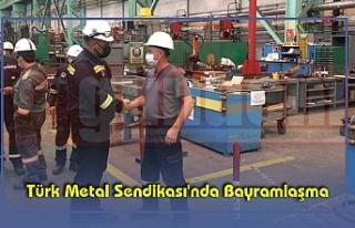 Türk Metal Sendikası'nda Bayramlaşma