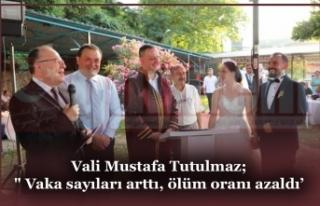 Vali Mustafa Tutulmaz; Katıldığı Nikah Töreninde...