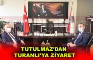 Vali Tutulmaz , Turanlı'ya Hayırlı Olsun Dileklerini...