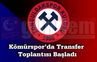 Zonguldak Kömürspor'da Transfer Toplantısı Başladı