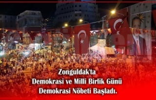 Zonguldak'ta Demokrasi ve Milli Birlik Günü...