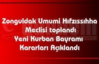 Zonguldak Umumi Hıfzıssıhha Meclisi toplandı Yeni...