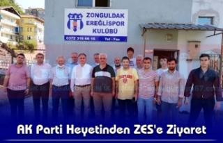AK Parti Heyetinden ZES'e Ziyaret