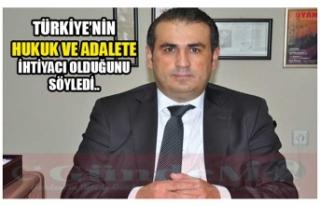 DEMİRTAŞ TÜRKİYE'NİN HUKUK VE ADALETE İHTİYACI...