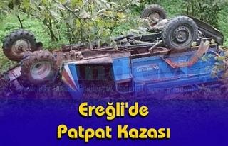 Ereğli'de Patpat Kazası