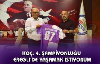 Erhan Koç; Ereğli Belediyespor'da