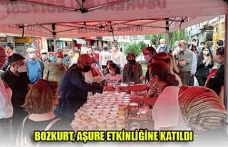 BOZKURT, AŞURE ETKİNLİĞİNE KATILDI