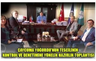 ÇAYCUMA YOĞURDU'NUN TESCİLİNİN KONTROL VE DENETİMİNE...