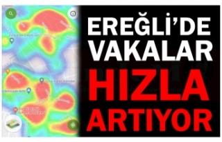 EREĞLİ'DE VAKA ARTIŞI SÜRÜYOR!