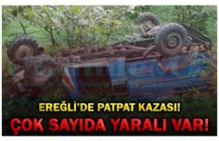 EREĞLİ'DE PATPAT KAZASI! ÇOK SAYIDA YARALI VAR!