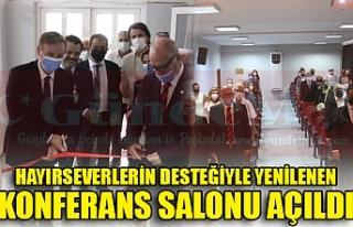 HAYIRSEVERLERİN DESTEĞİYLE YENİLENEN KONFERANS...