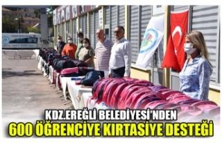 KDZ.EREĞLİ BELEDİYESİ'NDEN 600 ÖĞRENCİYE...