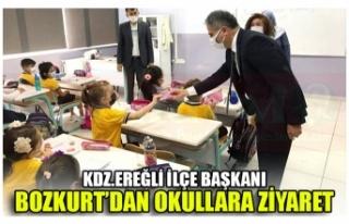 KDZ.EREĞLİ İLÇE BAŞKANI BOZKURT'DAN OKULLARA...