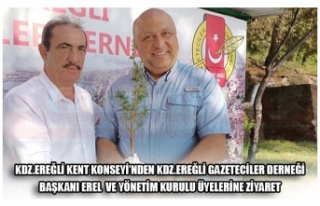 KDZ.EREĞLİ KENT KONSEYİ'NDEN KDZ.EREĞLİ GAZETECİLER...
