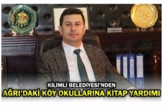 KİLİMLİ BELEDİYESİ'NDEN AĞRI'DAKİ KÖY...