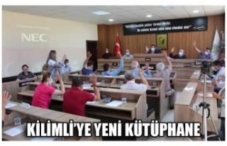 KİLİMLİ'YE YENİ KÜTÜPHANE