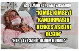 ''KİMSE KİMSEYİ KANDIRMASIN HERKES AŞISINI...