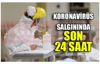 KORONAVİRÜS SALGININDA SON 24 SAAT