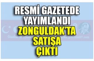 RESMİ GAZETEDE YAYIMLANDI ZONGULDAK'TA SATIŞA...