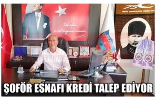 ŞOFÖR ESNAFI KREDİ TALEP EDİYOR