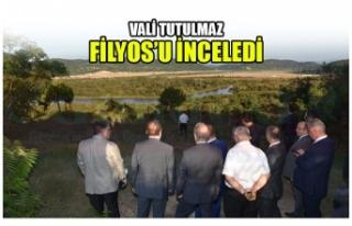 VALİ TUTULMAZ'DAN FİLYOS'A İNCELEME !