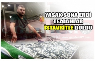 YASAK SONA ERDİ TEZGAHLAR DOLDU!
